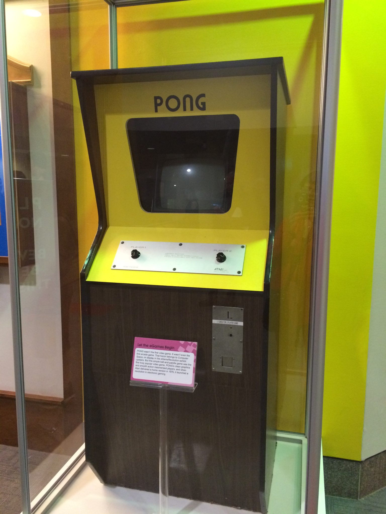 A relic, at the Strong National Museum of Play.