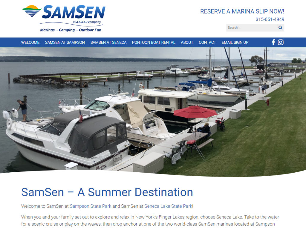 SamSen Marinas & Camping