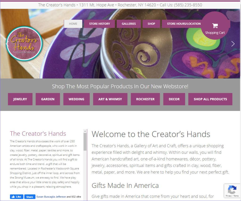 The Creator's Hands