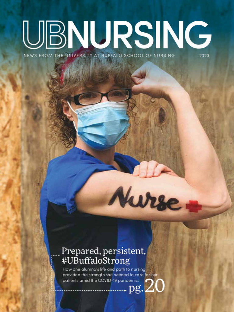 UBNursing magazine: COVID-19 stories